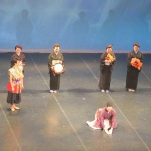 ムイントボンのお出かけ日記(11)93歳の現役歌手に驚き、日本舞踊とバレエのコラボの舞台に感動!