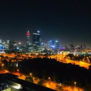 【パース】オーストラリア6日目~キングスパークの夜景~