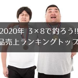 2020年 「3×8で釣ろう!!」で売れた商品ランキングトップ10