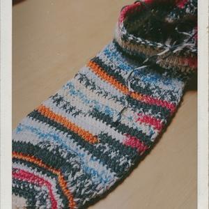 かぎ針編みの靴下 進捗