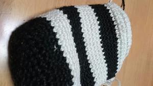 今日の編み物