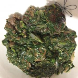 アデメデシ(モロヘイヤスープ)