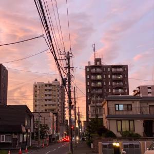 優しい夕日、優しいお気持ち