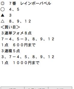 水曜のペキオ予想は・・久々の塾生他体験コースありまっせ!!