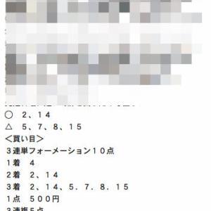 カンペキオ塾中央クラス2日目は3連複9点99.6倍ズバリで圧勝ww