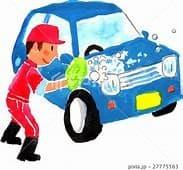 この暑い中、ちょっと洗車したら、めちゃくちゃ汗かきました((+_+))