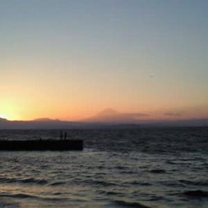 海を眺めたい、できればサンセットを・・・って思ったことありません?