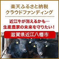 近江牛が消える 楽天ふるさと納税クラウドファンディング