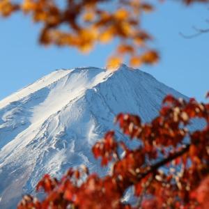 秋の富士山(11/14 e)