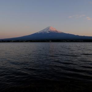 夕暮れの富士山(6/24 e)