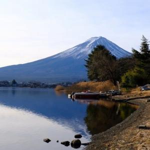 河口湖と富士山(1/21 m)