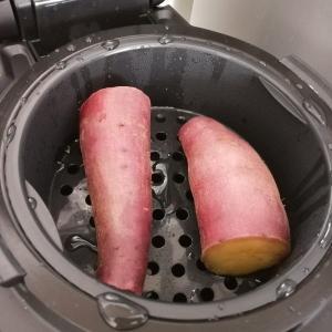 ホットクックミニで焼き芋を作ってみた