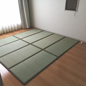 寝室のベッドを布団に変更!フローリングに畳を敷いたよ