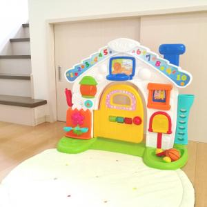 生後9ヶ月から遊べる大物おもちゃ購入