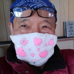 コロナウイルスと闘おう マスクお絵かき作戦 第二弾
