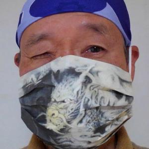 ウイルスと闘おう マスクお絵かき作戦 第七弾