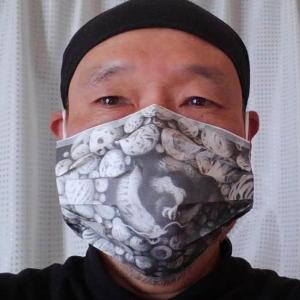 ウイルスと闘おう マスクでお絵かき作戦 第八弾