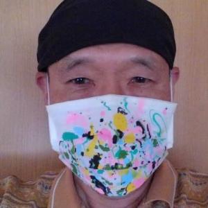 ウイルスと闘おう マスクでお絵かき作戦 第九弾
