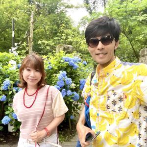 幸運を呼ぶ「紫陽花の写真」〜鎌倉のあじさい寺に参拝しました。