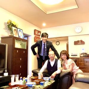 田宮さんのお父さんのお誕生日会でした!