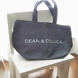 【DEAN&DELUCAトートバッグ】チャコールグレーSを購入!可愛くて丈夫♪
