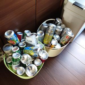 タイトル思いつかないのでキーワードだけ挙げる「ゴミ」「空き缶」「リサイクル」「報連相大事」