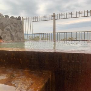 【鹿児島市】古里温泉 桜島シーサイドホテル~浴室からの眺めが素敵すぎる!一日の終わりは海を眺めながら