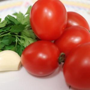 キノコのトマト煮込み
