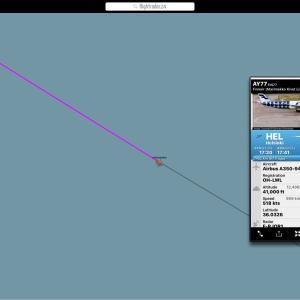 フィンエアー Airbus A350-900 (OH-LWL) マリメッコ塗装 3号機 飛来してる!