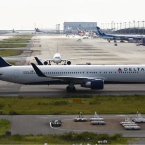 デルタ航空 Boeing 767-300 (N191DN) 離陸・・・・・小話:成田から羽田へシフトする戦略とは❗️