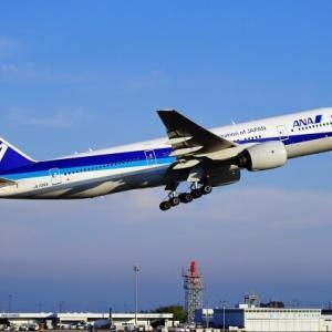 ANAのJA706A、羽田空港を離陸 サンバーナーディーノへ  退役です❗️サンバナディーノ国際空港も飛行機の墓場として有名‼️