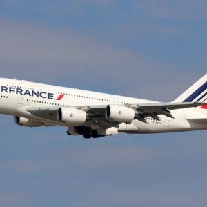 2020年6月26日、全機退役することが決まったエールフランス航空のA380型機がラストフライト‼️