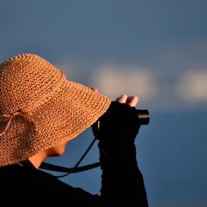 関空:プレイバックシーン✈️夏の日の関空 帽子の似合う空みちゃん✈️‼️