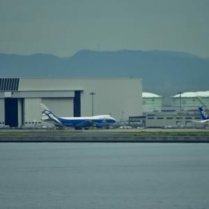 関空プレイバックシーン🛬🛫ABC cargoジャンボ 離陸に間に間一髪セーフ 間に合う‼️早朝 ジャンボ 4機‼️