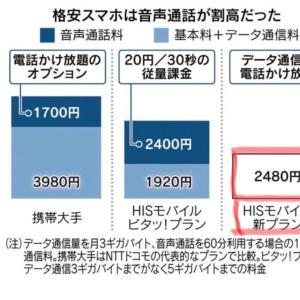 格安スマホ値下げへ指針、総務省 回線料に下げ圧力 ❗️格安携帯電話MVNOの値下げの呼び水となるか‼️