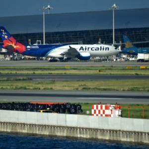 プレイバック✈️離陸機を追っかけてみる❗️Air calinA330-900neo 最新鋭機が飛来している🛫