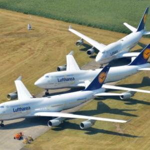 ルフトハンザドイツ航空の計3機のB747-400型機がトゥエンテ空港で離陸許可を得られず立ち往生✈️何故でしょうか❓‼️