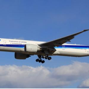 ANA、777-300ERがさらに1機退役 離日は恒例の火曜朝・・・・退役が加速