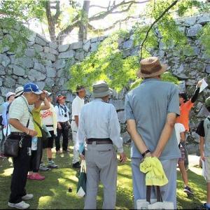 9/7(土)は、福山城「鐘櫓」特別公開に参加のGONsanでした(^.-)☆(4)