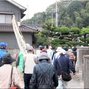 11/3(日)は、水呑学区ふれあい文化祭の『史跡巡り』に参加でした(^.-)☆(3)