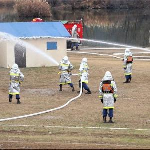 2020年「福山消防出初め式」(11)