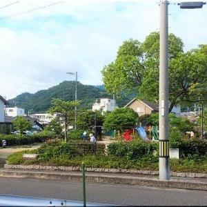 「浜あおむし公園」の清掃風景です(^.-)☆
