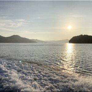 大小の島々を遠目に穏やかな瀬戸内での釣り…楽しいでしょうねぇ(^.-)☆