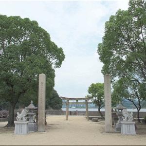 栂丸山から下山後は、「神島天神社」に立ち寄りでした(^.-)☆(3)