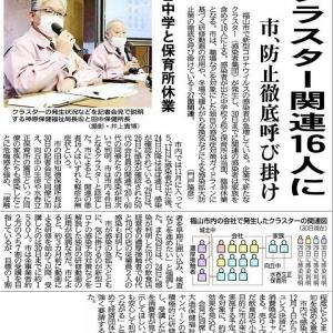 んっ、また、福山市内で3名の感染者が発生?…(3)
