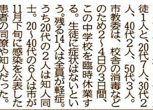 昨日、またお一人福山市でコロナ感染者が確認されましたようです…