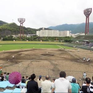 本日・7/10(土)は、久し振りに高校野球観戦となりました(^.-)☆(7)