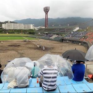 本日・7/10(土)は、久し振りに高校野球観戦となりました(^.-)☆(8)
