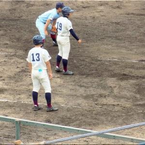 本日・7/10(土)は、久し振りに高校野球観戦となりました(^.-)☆(9)