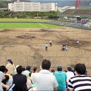 本日・7/10(土)は、久し振りに高校野球観戦となりました(^.-)☆(11)